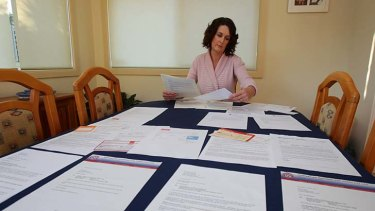 Hounded with letters and threats: Julie Fehon.