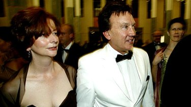 Julia Gillard and partner Tim Mathieson step out in 2006. The Government has now appointed the former hairdresser as an ambassador for men's health.