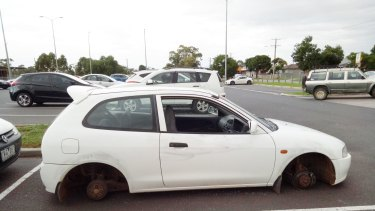 Creina O'Grady's car was broken into at Melton Railway Station.