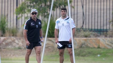 Tough replacement: Shane Flanagan has a Michael Ennis-sized hole in his Sharks side.