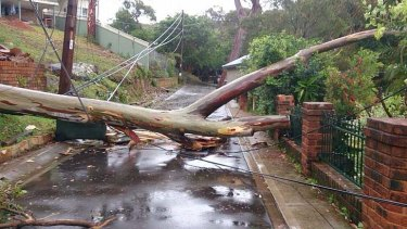 Maianbar residents awoke to significant damage in their village.