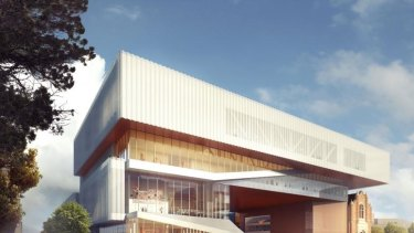 The new Perth Museum, due to open in 2020, was one of then state treasurer Christian Porter's projects that boosted Western Australia's debt from $13.4 billion to $18.2 billion in two years.