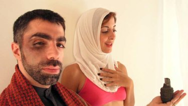 Eye-catcher ... Profane, directed by Usama Alshaibi depicts the life of Muslim sex worker Muna.