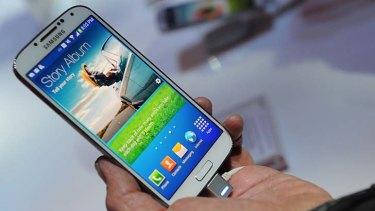 $235: Samsung's Galaxy S4 smartphone.