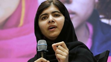 Malala Yousafzai: Activist for education.
