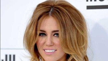 Miley Cyrus at the Billboard Music Awards.