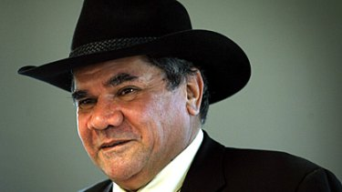 Australian of the Year Mick Dodson in November last year.
