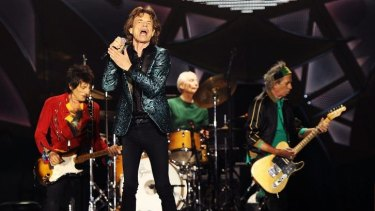 The Rollings Stones perform at Adelaide Oval on October 25.