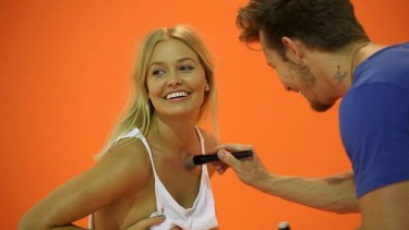 """Being Lara Bingle ... """"a series that combines irredeemable vacuousness with faux documentary realism."""""""