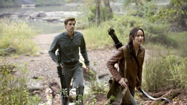 Jennifer Lawrence and Liam Hemsworth head back to the woods.
