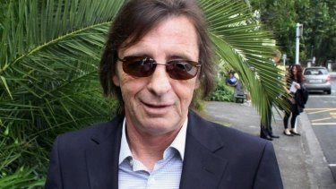 Phil Rudd, pictured here  in 2010.