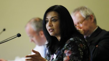"""""""Not making it clear to tens of thousands of bus commuters that they'll be signing up to hand over their personal information to a private company is simply irresponsible,"""" said Greens transport spokeswoman Mehreen Faruqi."""