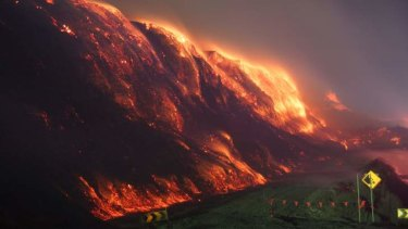 The Hazelwood coalmine fire. <i>Photo: Keith Pakenham</i>