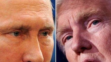 Co-operation: Vladimir Putin and Donald Trump.