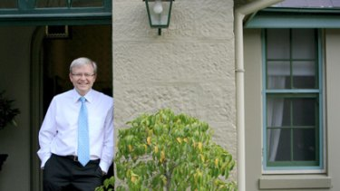 New life ... Kevin Rudd will split his time between Australia, China and the US.