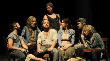 The Secret River: staged in the main STC theatre to mainly positive reviews.