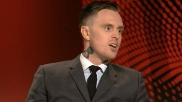 """Matt Colwell: """"There's so many racist idiots in this country and they're everywhere. The Australian flag … I identify that with racism. Anyone else?"""""""