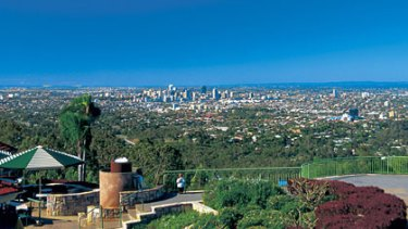The view atop Mt Coot-tha is even better when you walk rather than drive.