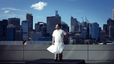 "New York chef David Chang . . . ""If I had come here when I was 21, I would never have left."""