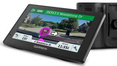 The screen on Garmin's DriveAssist 51 is easy to read, and spoken directions are given like a friend