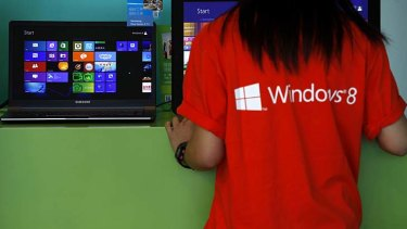 Windows 8: Deterred potential PC buyers, says IDC.
