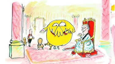 Funny and fun: <i>Mr Chicken Lands in London</i> by Leigh Hobbs.