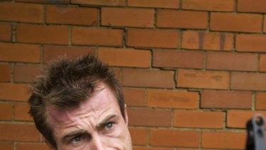 Richard Cawthorne as Dennis Allen in <i>Killing Time</i>.