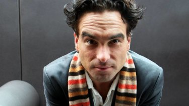 Surprised to be Big ... Johnny Galecki plays Leonard in The Big Bang Theory