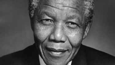Nelson Mandela, an icon of the struggle against apartheid.