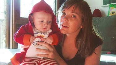 Missing ... Fidel Sweeney with his mother, Alice Jopson.