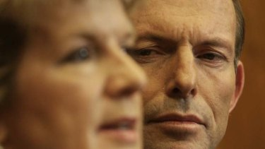 """""""Abbott, both in government and in opposition, employed a number of senior women on his personal staff."""""""