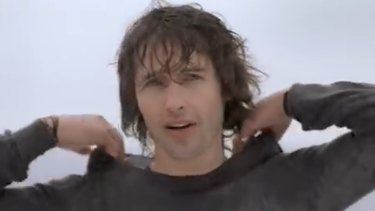 The film clip for James Blunt's 2005 hit 'You're Beautiful'