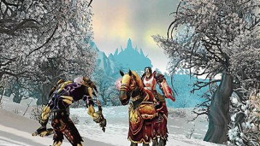 A scene from World of Warcraft.
