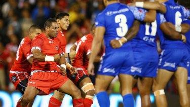 Tonga face Samoa in Penrith on Saturday night.
