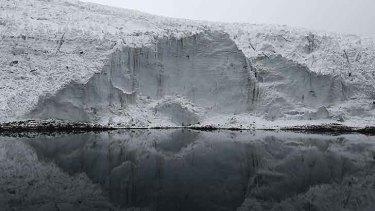 Pastoruri glacier in Peru - or what remains of it.