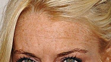 Angry ... Lindsay Lohan.