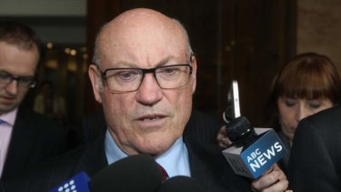 "Ian Macdonald: known as Eddie Obeid's ""left testicle"", ICAC told."