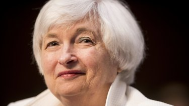Janet Yellen, head of the US Federal Reserve, is seen as keeping rates on hold until December.