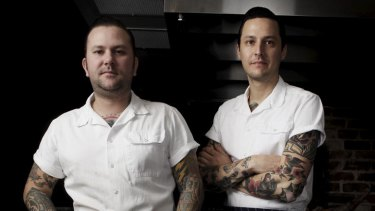 Porteno's Ben Milgate (left) and Elvis Abrahanowicz.
