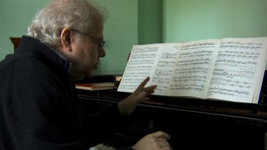 Aim to please ... pianist Emanuel Ax appears in the film <i>In Search Of Haydn</i>.