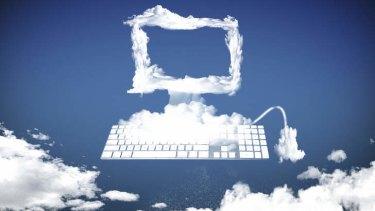 Cloud Computing . Illustration Karl Hilzinger .colour cartoon / illo / illustration / toon / artwork