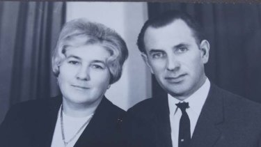 Family ties ... Julius Orban and wife.
