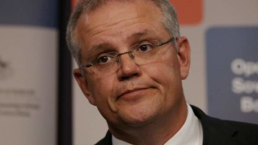 The very model of a modern muddled Admiral... Immigration minister Scott Morrison.