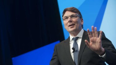 Telstra CEO David Thodey: ''Cloud computing is no longer a gleam in our eye, it is actually a very critical part of our business'.'