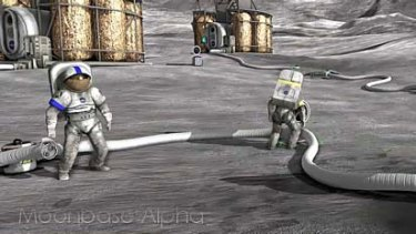 Moonbase Alpha: a new mulitplayer game from NASA.