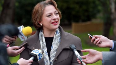Sophie Mirabella is facing a tough battle to hold onto her country Victorian seat of Indi against an independent challenge.