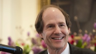 Professor Cass Sunstein, who was the keynote speaker at the  HC Coombs Public Policy Conference in Canberra on Monday.