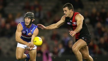 Caleb Daniel dominated for the Bulldogs.