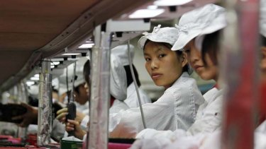 Guangdong ... workers at FoxConn.