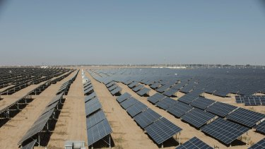 The Lendlease solar farm in Texas will have 700,000 panels.